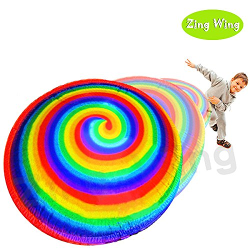 Hyper Disc (Flying Disc,Flying UFO Magic Spinning Spiral Gyroscope Toys Ball Balloons Air Hover Hyper Fly Disc Disk Frisbee Family Game for Kids Boys Girls Family Gifts)