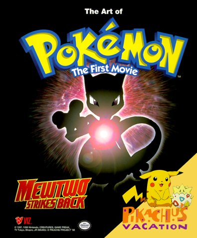 The Art of Pokemon, The First Movie: Mewtwo Strikes Back!