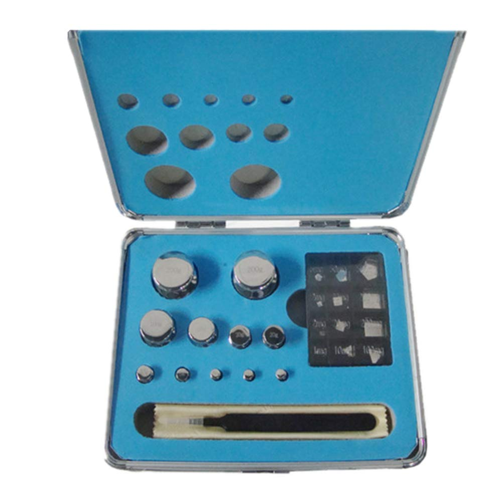 CGOLDENWALL E2 Scale Balance Calibration Weight Set Balance Weight Kit Set for Digital Balance Scale Jewellery Scale Electronic Lab Scale Scale Accessories (1mg/100g)