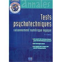 Tests psychotechniques - raisonnement numérique logique