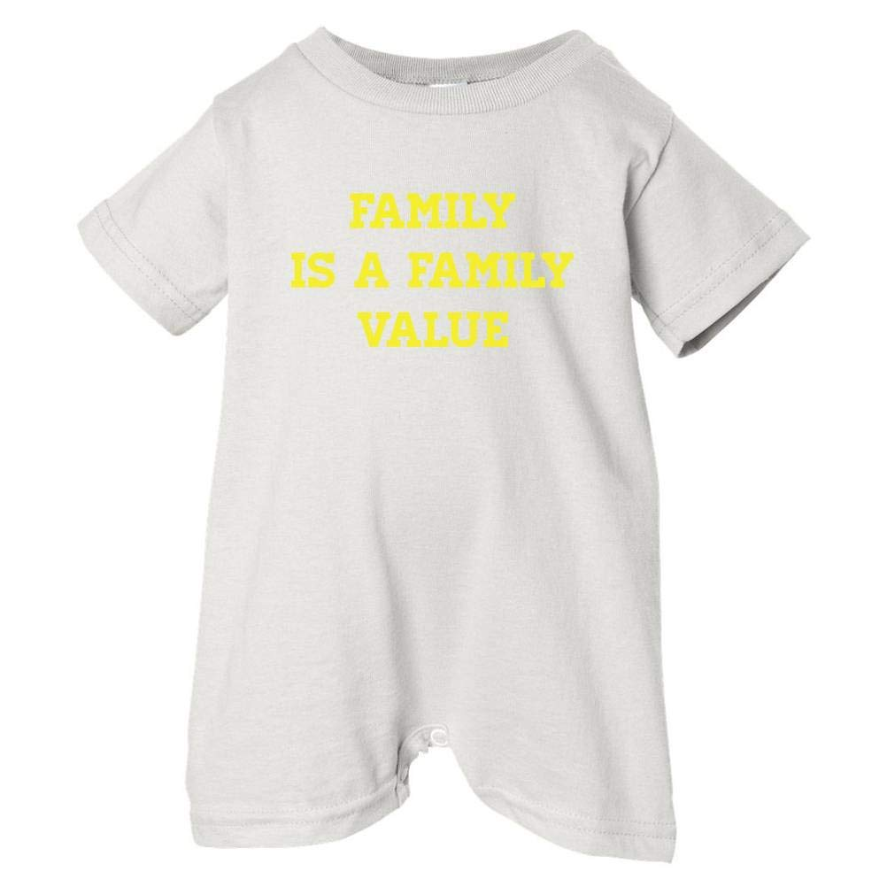 Pride Universe Unisex Baby Family Is A Family Value T-Shirt Romper