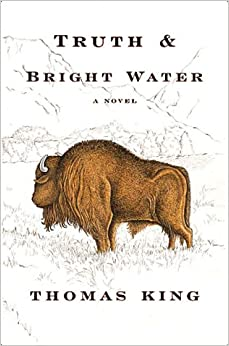 "truth and bright water One about coyote going west"" a second children's book, coyote sings to the  moon, appeared in 1998, and the novel truth and bright water was published."