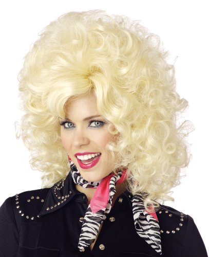 California Costumes Women's Country Western Diva Wig, Blonde, One (Country Western Ladies Costumes)