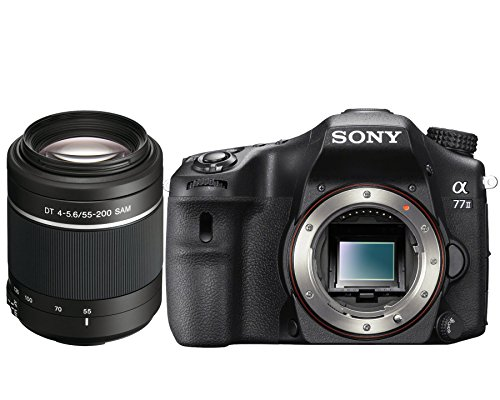 Sony a77 II (Alpha 77 II) ILCA-77M2 Body Bundle with Sony SAL552002 55-200mm Telephoto Zoom Lens