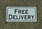 FREE DELIVERY Metal Sign for Food & Beverage Truck Concession Trailer Menu