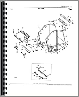 John Deere Baler Parts Diagram.Parts Manual John Deere 410 Round Baler Pc1626 John Deere