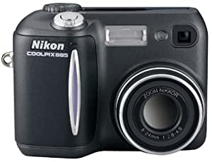 Nikon Coolpix 885 3MP Digital Camera w/ 3x Optical Zoom and Battery Charger