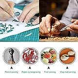 105 PCS Precision Carving Craft Hobby Knife Kit