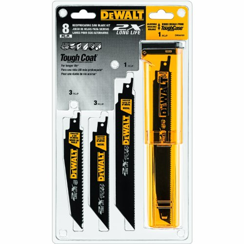DeWalt® Reciprocating Saw Blade Kit 8 pc Pack