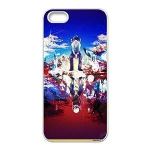 TOKIO GHOUL 19 para el funda iPhone 5 5s funda del teléfono celular de cubierta blanca