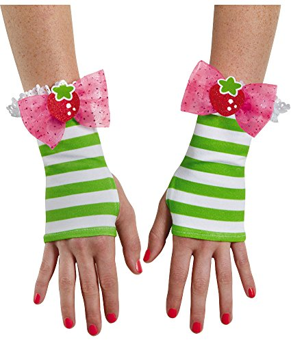 Strawberry Costumes Women (Disguise Women's Strawberry Shortcake Adult Costume Glovettes, Multi, One Size)