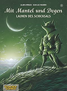 Mit Mantel und Degen, Bd.2, Unter schwarzer Flagge: Alain