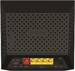 NETGEAR AC1200 WiFi DSL (Non-Cable) Modem Router 802.11ac Dual Band Gigabit (D6200)