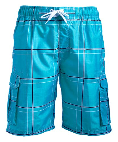 - 519J6I1U8mL - Kanu Surf Men's Echelon Swim Trunks (Regular & Extended Sizes)