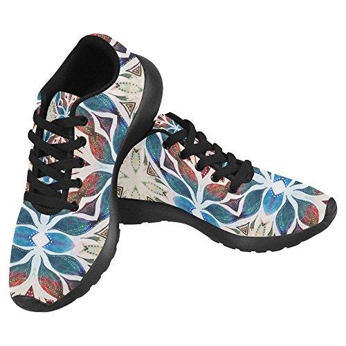 Interestprint Femmes Jogging Running Sneaker Léger Aller Facile À Pied  Casual Confort Sportif Chaussures De Course