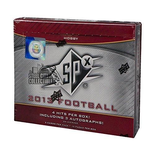 Hobby Box Legends - 2013 Upper Deck SPx Football Hobby Box