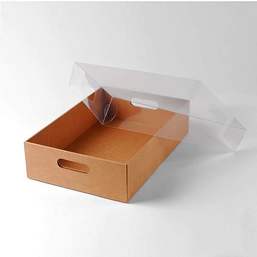 Selfpackaging Bandeja de cartón para respotería. La Mejor Manera de presentar un Surtido de deliciosos Dulces - Pack de 25 Unidades - S: Amazon.es: Hogar