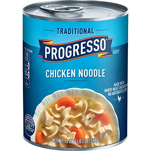 Progresso Traditional Soup, Chicken Noodle, 19-Ounce Cans (Pack of ()