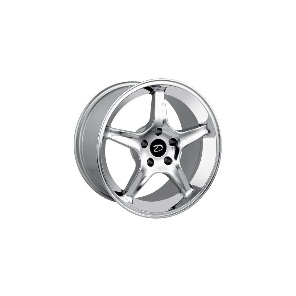 Detroit Style 830 (Chrome) Wheels/Rims 5x114.3 (830 7965C) Automotive