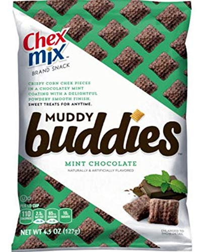 General Mills Cereal Chex Mix Muddy Buddies Mint Chocolate 4.5 Ounce 7 Pack