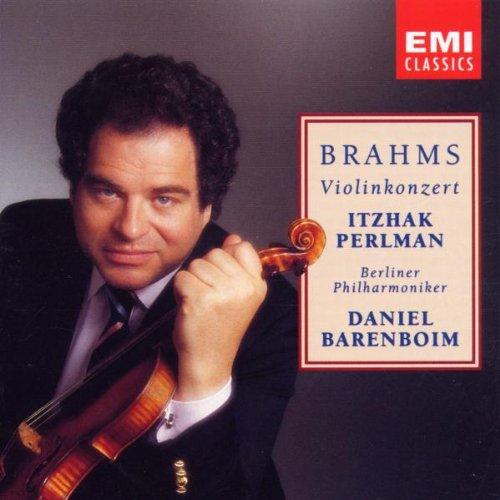 Brahms: Violin Concerto ~ Barenboim / Perlman