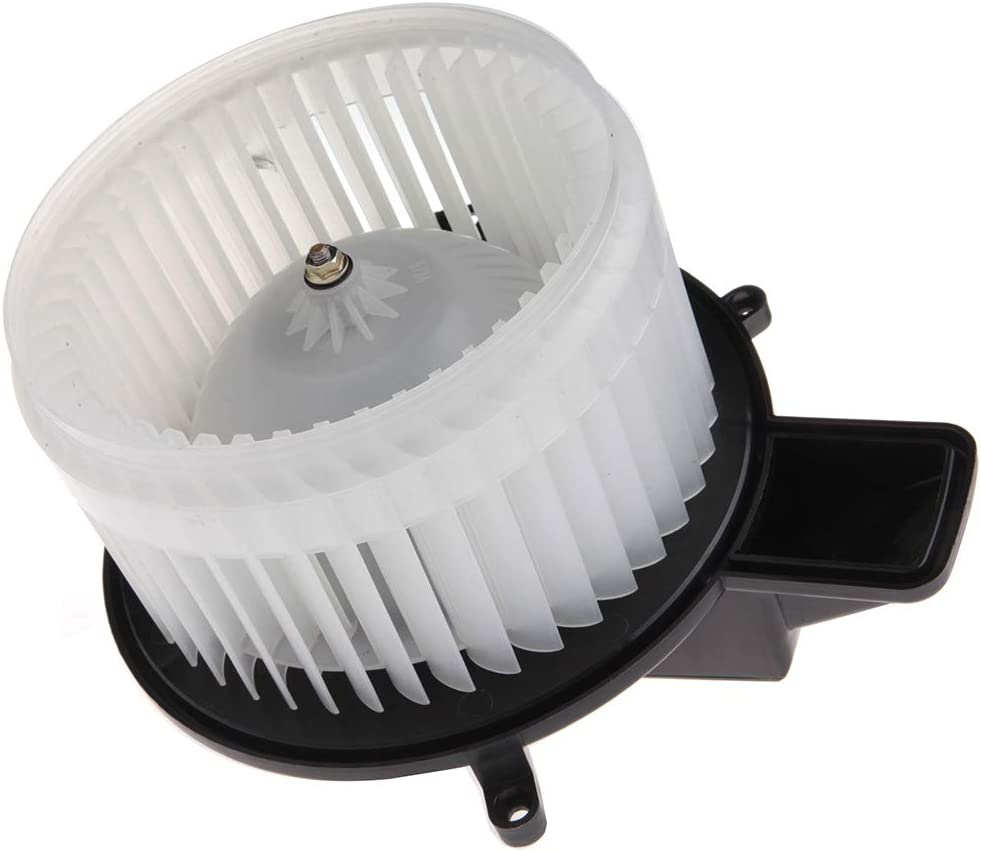 SCITOO ABS Plastic Heater Blower Motor w//Fan HVAC A//C Resistors Blowers Motors fit for 08-16 Chrysler Town Country //11-17 Dodge Durango //08-17 Dodge Grand Caravan //11-17 Jeep Grand Cherokee Front