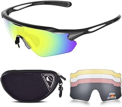 Sunglasses Anti UV400 Lens Polycarbonate Polarized Outdoor Sport Cycling Eyewear