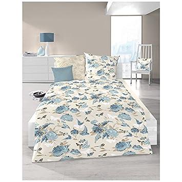 Schlafgut Bettwäsche Belle Epoque Delfterblau Soft Touch Cotton