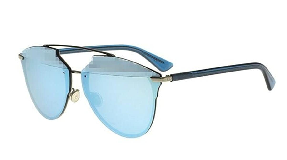 356f962b59d Amazon.com  New Christian Dior REFLECTED P PIXEL S62RQ ruthenium blue pixel  mirror Sunglasses  Clothing