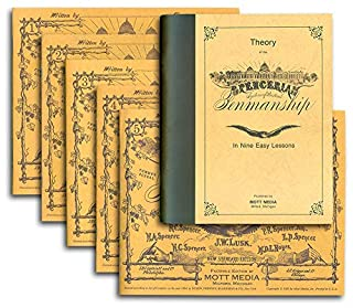 Spencerian Penmanship (Theory Book plus five copybooks) (088062096X) | Amazon price tracker / tracking, Amazon price history charts, Amazon price watches, Amazon price drop alerts