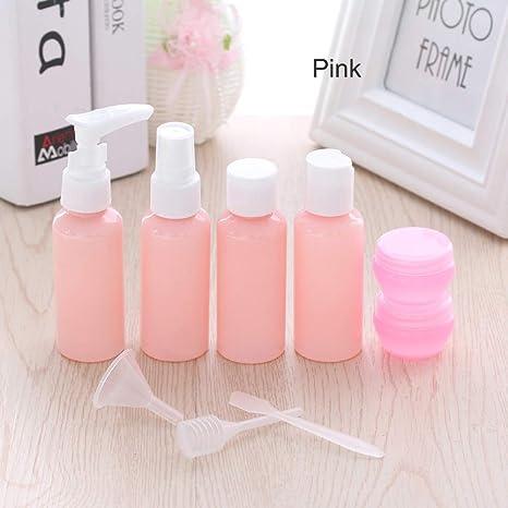 Amazon.com: ForShop - Juego de 9 botellas de plástico para ...
