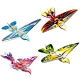 Voomall 2.4GHz RC Bionic Bird Ornithopter Flying Bird E-BIRD with Life-like Flapping Wing RC Toy for kids, Random color