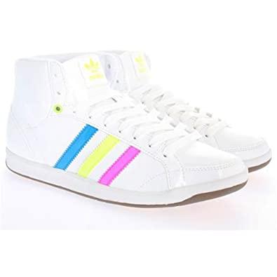 official photos a1a22 b33bc Adidas Womens Adi Hoop Mid W 6 Whiteelectricitybloom Amazon.co.uk Shoes   Bags