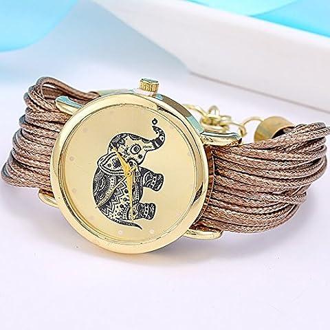 new Relojes Mujer Jewelry Fashion Women Dress Brand Elephant Design Bracelet Watch Montre Femme Quartz Watch Relogio (Relojes Rolex Women)