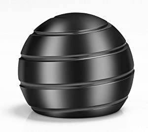 VEFINDOR Kinetic Optical Illusion Balls, Fidget Toys for Adults Stress Relief, Desk Toys for Office Conversation Piece (Gray)