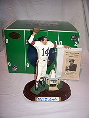 Otto Graham Cleveland Browns Autographed Figurine