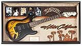 Eagles Signed Guitar - Hotel California Theme Custom Framed with COA