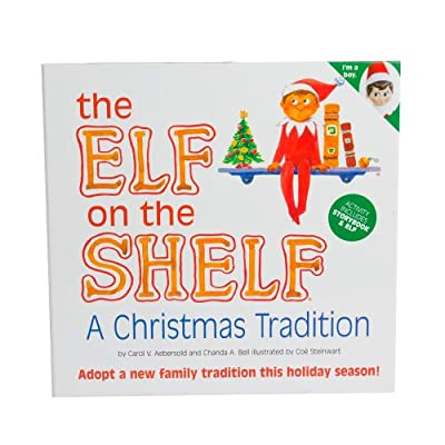 The Elf on the Shelf: A Christmas Tradition with Blue Eyed North Pole by gozuble