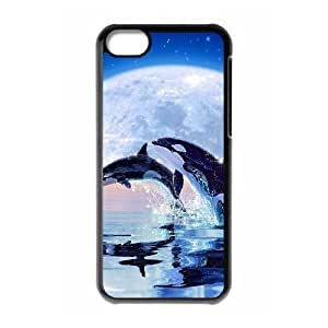 Dolphin New Fashion DIY Phone Case for Iphone 5C,customized cover case ygtg519493