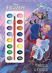 Thrills & Chills! (Disney Frozen) (Deluxe Paint Box Book)
