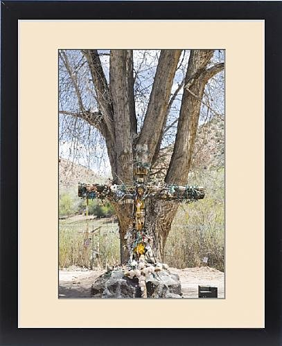 Framed Print of NM, New Mexico, Chimayo, El Santurario de Chimayo, known as Little by Fine Art Storehouse