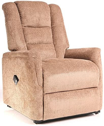 Bradfield Mink Single Motor Riser Recliner Chair In Fabric
