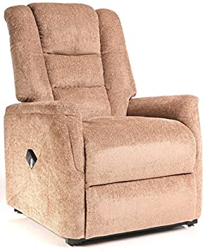 The Bradfield Riser Recliner Chair in Fabric. Single Motor easy-clean lift and  sc 1 st  Amazon UK & The Bradfield Riser Recliner Chair in Fabric. Single Motor easy ... islam-shia.org