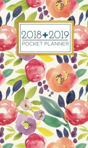 New Used Books 2018 2019 Pocket Planner 24 Month Calendar