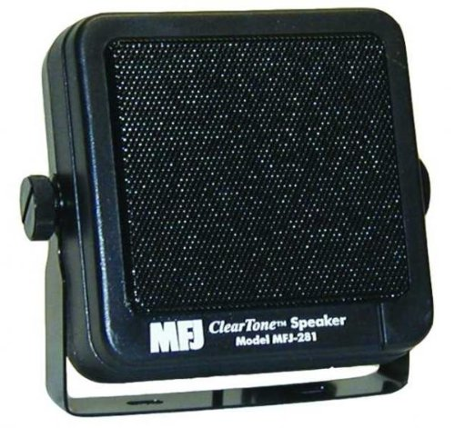 MFJ-281 MFJ281 Original MFJ Enterprises Speaker for mobile radios, Clear Tone