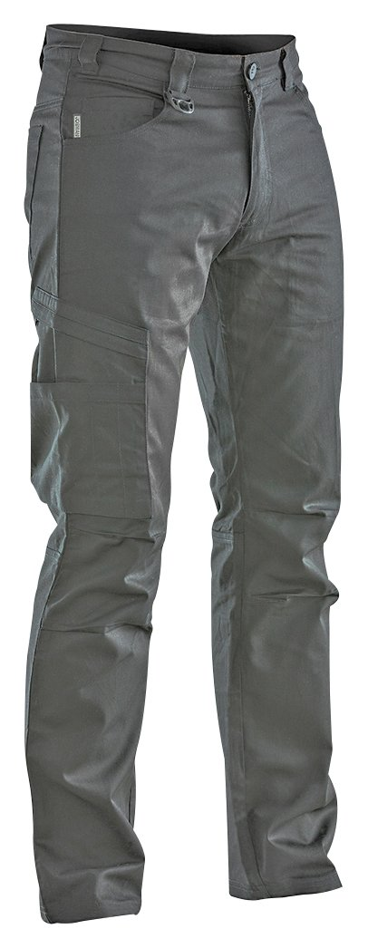 JOBMAN Workwear PANTS メンズ B016APRBUU 32W x 32L|グレー グレー 32W x 32L