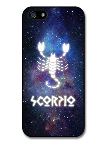 Cool Starsign in Space With Scorpio Design Illuminated Symbol case for iPhone 5 5S