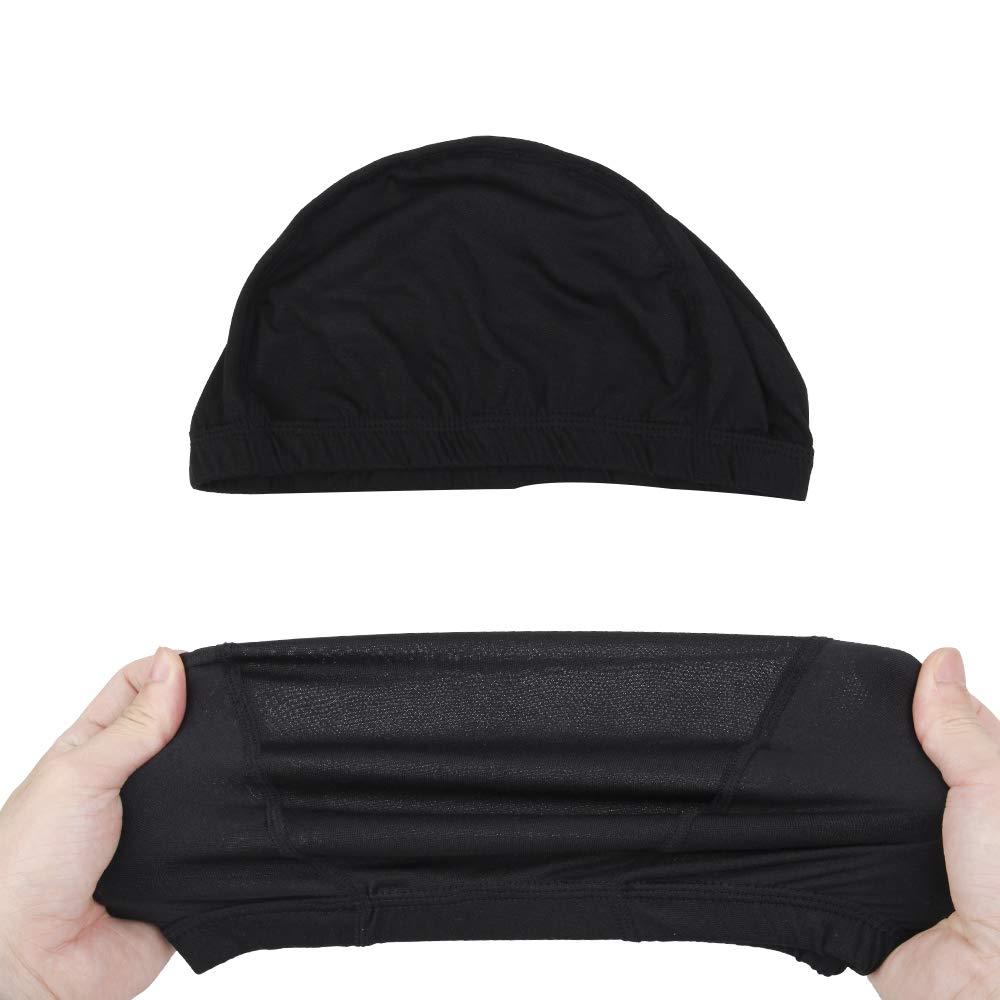 Dome Caps For Wigs 12 Pcs Stretchable Wigs Cap Spandex Dome Wig Caps For Men Women by YOUNIQUE (Image #4)