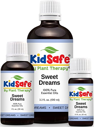 KidSafe Sweet Dreams Synergy Essential Oil Blend, Undilated, Therapeutic Grade