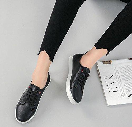 Comfort Verano Zapatos Tac Informales o Mujer de Zapatos Primavera Oto de Mujer Sneakers Microfibra wwSUvnq0